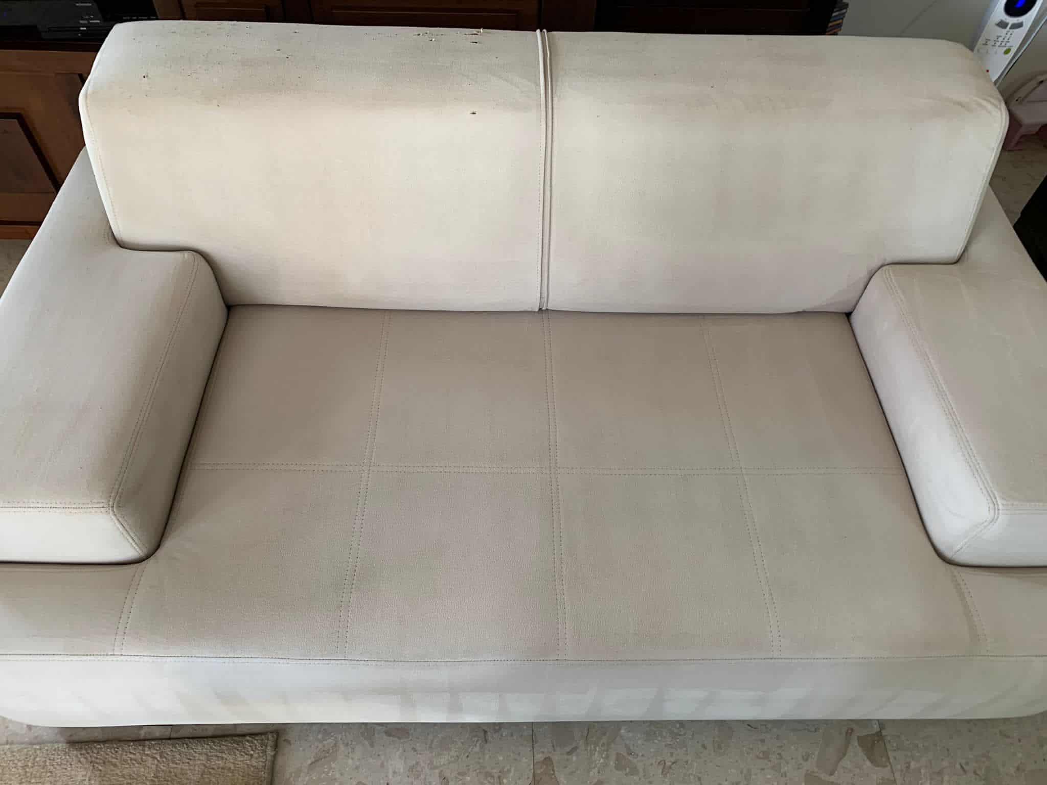 ניקוי ספה מבד